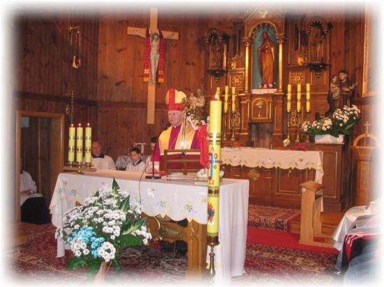 Ko�ci� na Zatylu - homilia Ksi�dza Biskupa