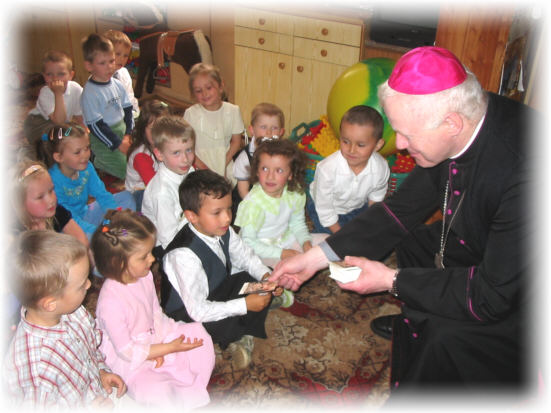 Wizyta w przedszkolu Si�str S�u�ebniczek