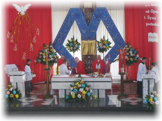 Msza �wi�ta w Sanktuarium MBNP