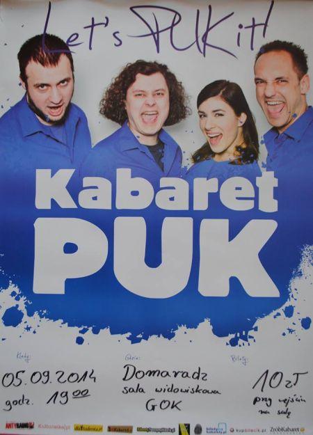 Zapraszamy na wyst�p Kabaretu PUK