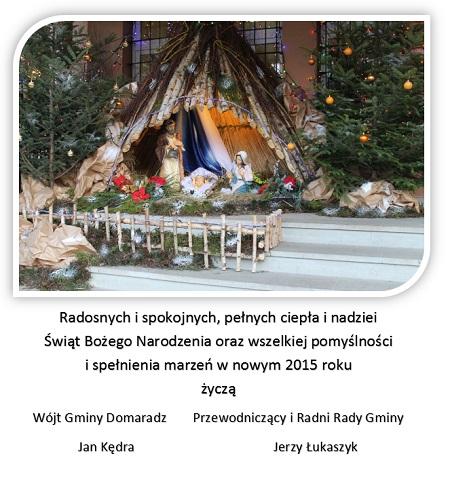 �yczenia na Bo�e Narodzenie 2014